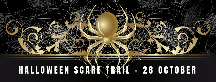 banner facebook header halloween scare trail